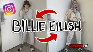 I Copied BILLIE EILISH Instagram Outfit - GUCCI