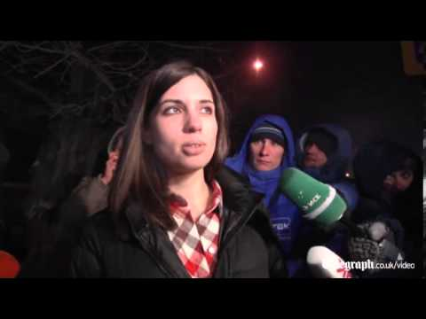 Freed Pussy Riot member Nadezhda Tolokonnikova calls for boycott of Winter Olympics