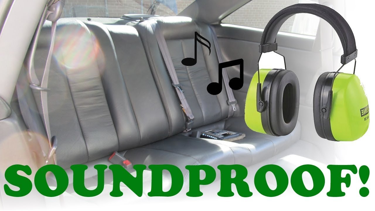 car sound proofing installation youtube. Black Bedroom Furniture Sets. Home Design Ideas