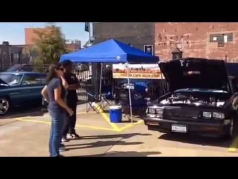 Classic Cars at Brooklyn Automotive High School Cruise