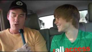In The Backseat With Justin Bieber