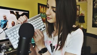 [ASMR] Keyboard Sounds, Typing & Whispering