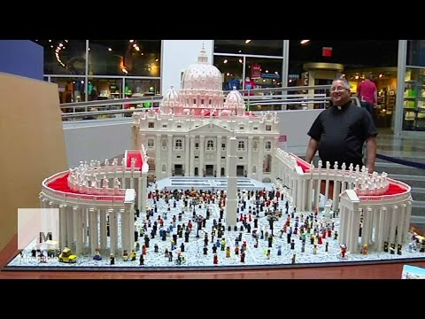 Priest Builds Elaborately Detailed Lego Replica of the Vatican | Mashable News