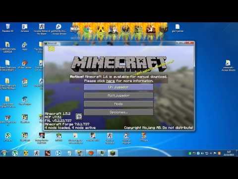 Minecraft 1.5.2 l Armas . Armamentos . Aviones y Coches MOD (Sin Problemas)