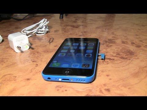 Распаковка точной китайской копии Iphone 5c за 69$ c Aliexpress