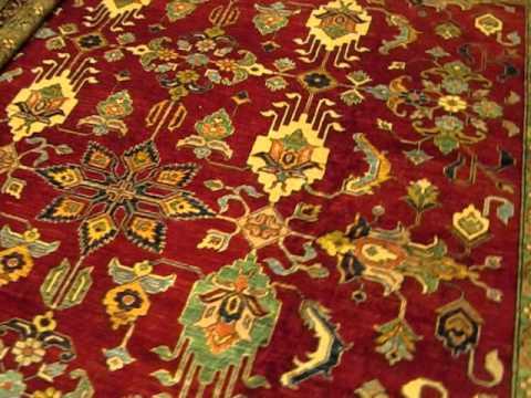 12 x 14 Kazak, woven in Afghanistan from Paradise Orienatal Rugs, inc. in Sebastopol, CA!