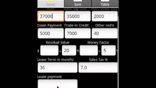 Awesome Car Finance Android App Video