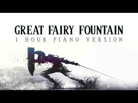 Zelda - Great Fairy Fountain | 1 Hour Piano