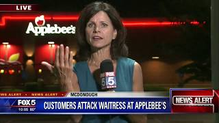 Customers attack waitress Applebee's