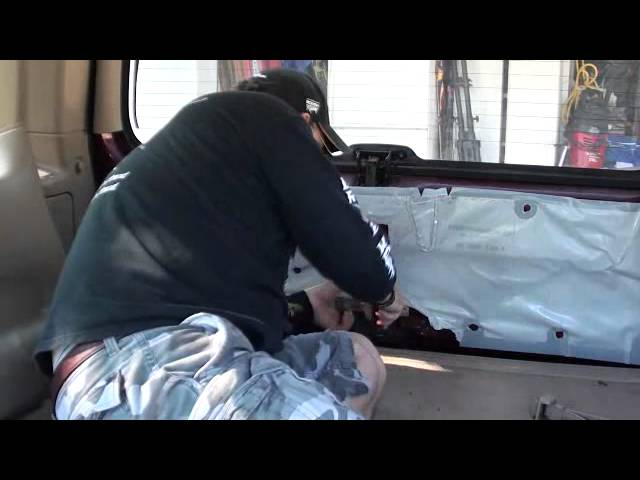 Ford Expedition Lift Gate Repair 1997 - 2000 ... - YouTube