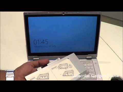 Panasonic CF AX2 Ultrabook Hands on Review   Premium Windows 8 Ultrabook + Tablet PC