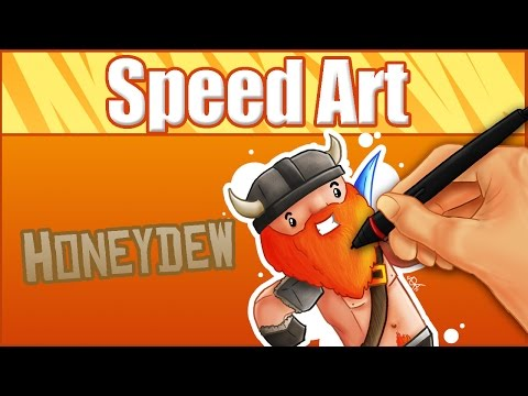 Honeydew(Yogscast Simon)- Speed Art