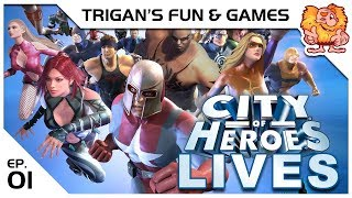 City of Heroes LIVES