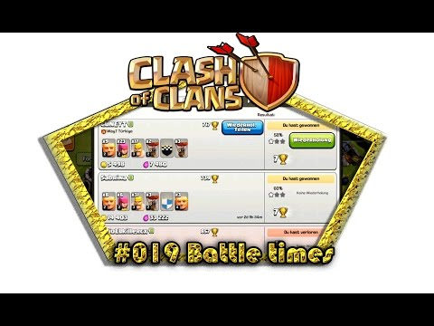 Let's play Clash Of Clans #019 - Battle times [Deutsch / German][LP iOS IPhone]