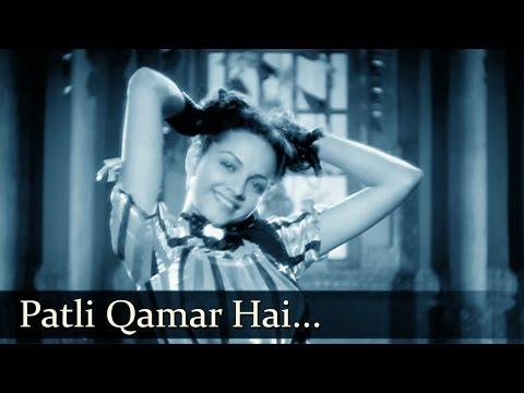 Barsaat - Patli Qamar Hai Tirchhi Nazar Hai  - Mukesh - Lata...