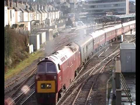 THE ROYAL DUCHY: Penzance to Paddington | Plymouth Station