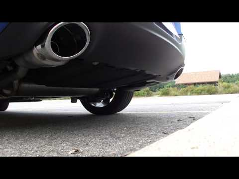 2013 Dodge Dart GT exhaust