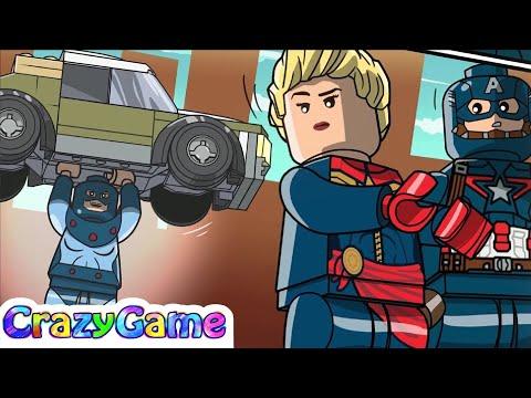 LEGO Marvel's Avengers Episode 17 - Captain Marvel Movie
