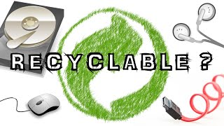RECYCLE ELECTRONIC STUFF YOU STORE AT HOME (FOR NO REASON)