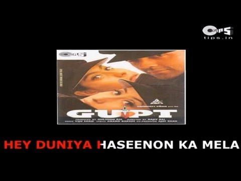Duniya Hasino Ka Mela- Bollywood Sing Along - Udit Narayan -...