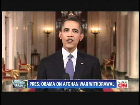President Obama Afghanistan Withdrawal Speech (June 22, 2011)