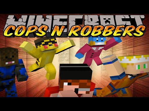Minecraft Mini-Game : Cops N Robbers - Super Saiyan Seto