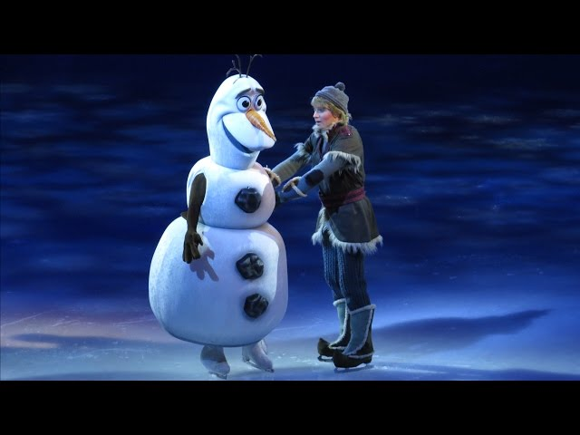 Olaf Makes Live Debut, Meets Anna, Kristoff and Sven in Disney on Ice Presents FROZEN - Warm Hugs