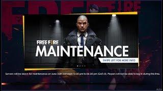 FREEFIRE NEW UPDATE 2019 (GAME IS NOT OPEN) SEASON 10