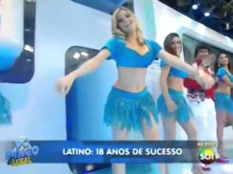 Latino e Alan e Alisson no Domingo Legal SBT - Caranguejo