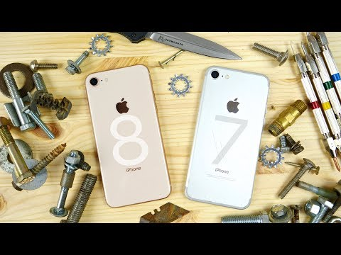 Iphone 8 Scratch Test How Resistant Is New Gl
