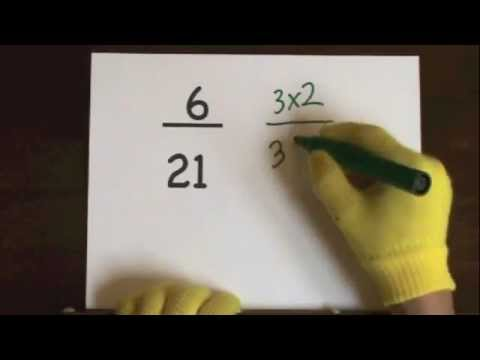 Simplify Fractions video