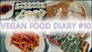Vegan Food Diary #10 - Spinat , Sushi, Pfannkuchen & co.