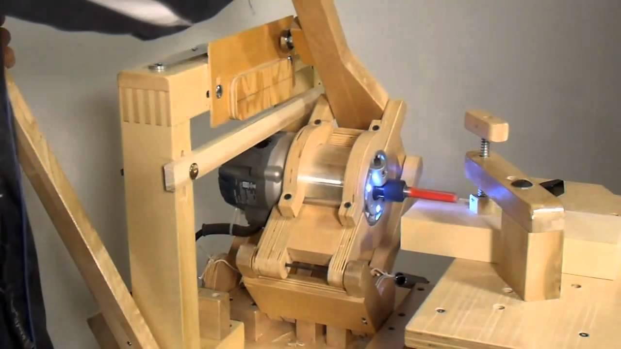 Large Mortise And Tenon On The Pantorouter Youtube