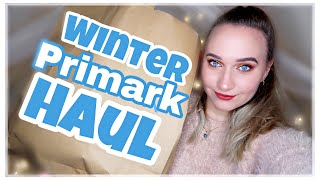 WINTER PRIMARK HAUL November 2018 I LikeADaisyInSpring