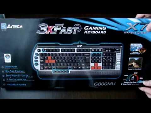 Keyboard A4TECH X7 G800MU