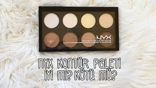 İnceleme | NYX - Kontür Paleti / Highlight and Contour Pro Palette
