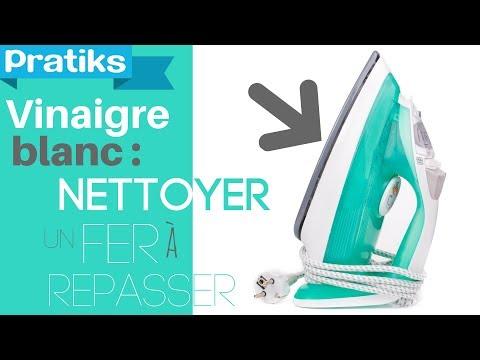 Comment nettoyer la semelle de votre fer repasser le for Nettoyer wc vinaigre blanc