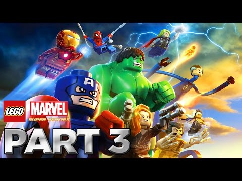 LEGO: Marvel Super Heroes - Walkthrough Part 3 [Level 2: Times Square Off] W/Lewis&Annii