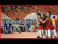 Akhirnya Timnas U16 Juara Grup dan Lolos Ke Final Piala Asia