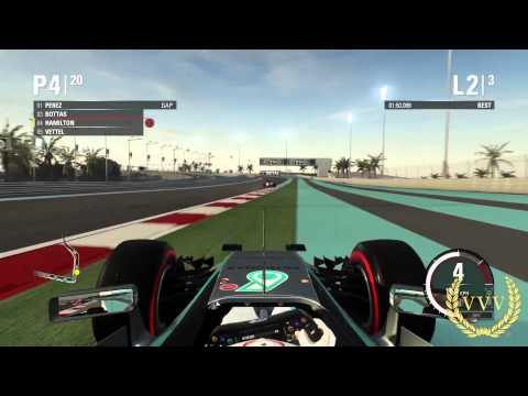 Racing FAST F1 2015 Abu Dhabi PS4 Gameplay