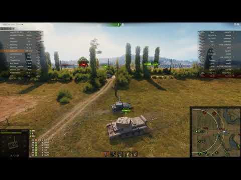 AMX 13 57, Прохоровка, Встречный бой