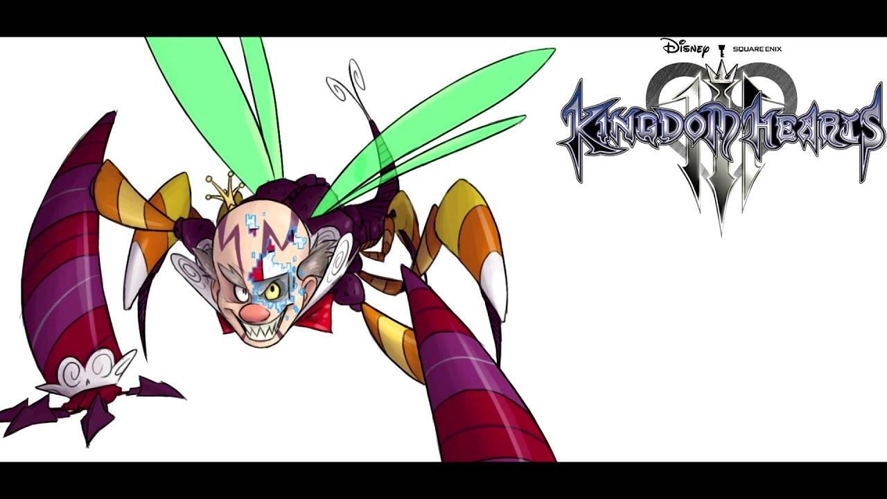 Kingdom Hearts III - Wreck-It Ralph Boss Fight: Turbo ...