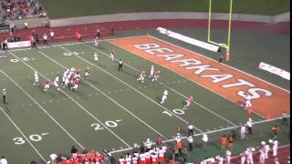 Chris Bonner vs Sam Houston State [All-22] (2014)