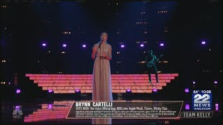 """Download Lagu Longmeadow's Brynn Cartelli continues her journey on NBC's """"The Voice"""" Gratis STAFABAND"""
