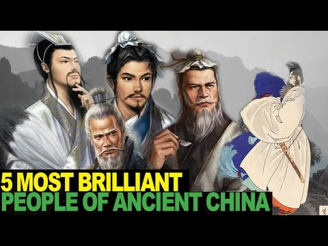 5 SMARTEST People in Chinese History
