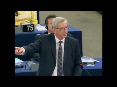 Speech of Jean-Claude Juncker at the European Parliament in Strasbourg, 15 July 2014