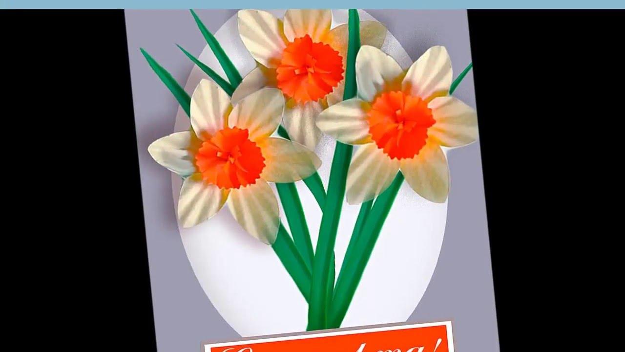 Как сделать подарок для мамы на восьмое марта 48