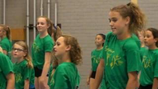 Mara turnen TVK Turnkamp Haarlem 2016 (HD aanzetten)