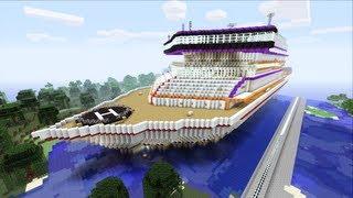 Minecraft Xbox - Luxory Cruise Ship - Prestige Sur La Mer - Part 1
