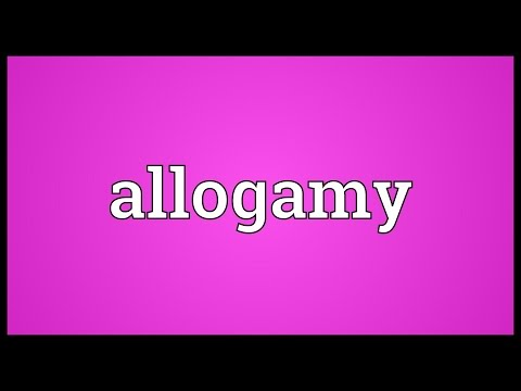 Header of allogamy